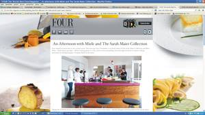 "FOUR ""The world's best Food Magazine"" findet uns cool und blogged unseren Mielekochevent."