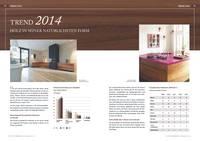 Furnierte Möbel der Sarah Maier collection als Hingucker im Branchentalk